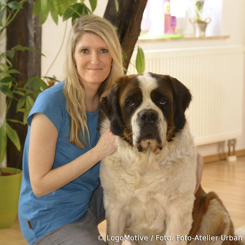 Kristin Fahlberg mit Heidi